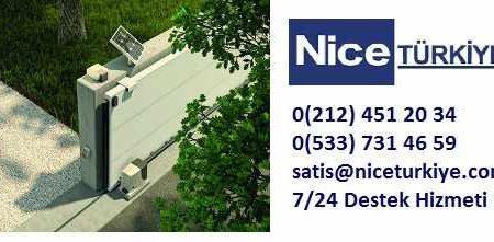 Nice Türkiye | Bahçe Kapısı Motorları - Bariyer Sistemleri
